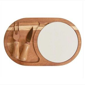 Twine brand Cheese Board With Plate
